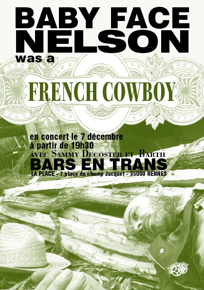 French Cowboy aux bars en trans